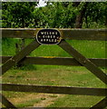 ST6092 : Welsh's Cider Apples nameplate,  Oldbury-on-Severn by Jaggery