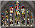 TG0343 : East Window, St Nicholas' church, Blakeney by Julian P Guffogg