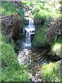 SE0908 : Waterfall, Middle Clough, Meltham by Humphrey Bolton