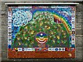 NS3982 : Mural: Little Hands Ben Lomond by Lairich Rig