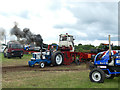 SJ7959 : Tractor competition at the Smallwood Rally by Stephen Craven