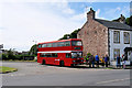 SD4161 : Bus Turning Circle, Heysham Village by David Dixon