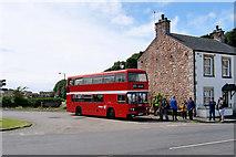 SD4161 : Bus Turning Circle, Heysham Village by David Dixon