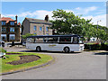 SD4161 : Heysham Village Bus turning Circle by David Dixon