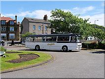 SD4161 : Heysham Village Bus turning Circle by David Dixon