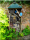 SO4465 : Bug hotel, Croft Castle and Parkland, Yarpole by Brian Robert Marshall