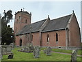 SO3839 : Church at Tyberton, Herefordshire by Chris Allen