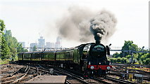TQ2775 : 'Flying Scotsman' by Peter Trimming