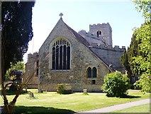 TL5646 : Parish church [1] by Michael Dibb