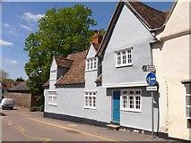 TL5646 : Linton houses [11] by Michael Dibb