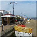 SZ5984 : Sandown seafront and beach, Isle of Wight by Robin Drayton