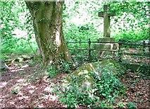 TG2408 : The grave of John Venning by Evelyn Simak