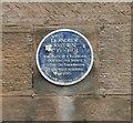 NO5603 : Blue plaque commemorating Lt Andrew Waid, R.N. by Richard Sutcliffe