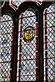 TL7963 : Little Saxham, St. Nicholas Church: South chancel window by Michael Garlick