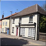 TL5646 : Linton houses [35] by Michael Dibb