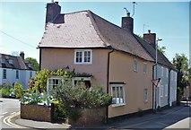 TL5646 : Linton houses [42] by Michael Dibb