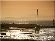 SD4464 : Sunset, Morecambe Beach by David Dixon