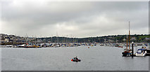 SW8132 : Falmouth harbour by habiloid