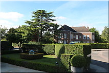 TQ2688 : Garden on Winnington Road, Hampstead Garden Suburb by David Howard