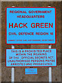 SJ6447 : Hack Green RGWH - a Prohibited Place by David Dixon