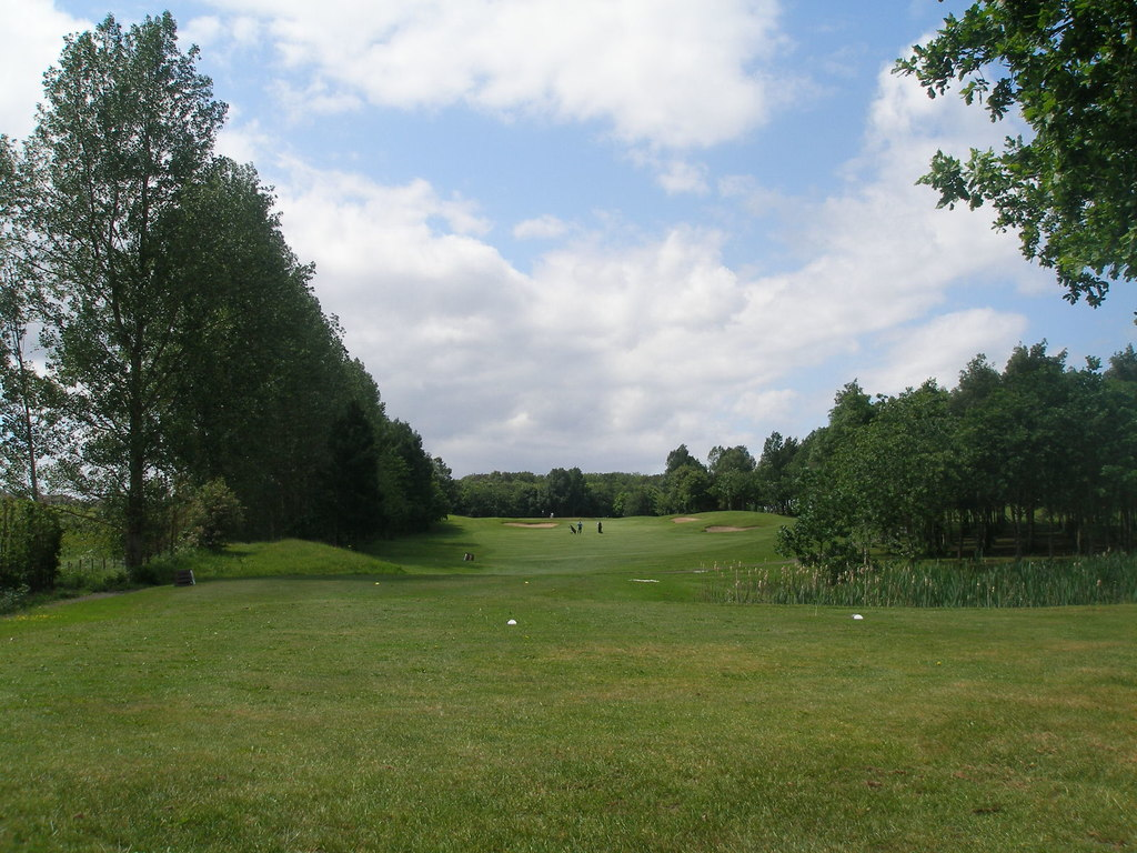 Part of the Pine Valley golf course near... © John Slater ...