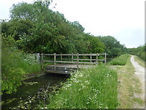 SK7431 : The Grantham Canal at bridge #42 by Graham Hogg