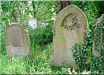TG2408 : The grave of Edward Nursey by Evelyn Simak