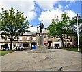 SK0394 : Glossop War Memorial by Gerald England