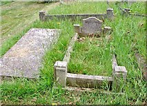 TG2408 : The grave of George Benjamin Payne by Evelyn Simak