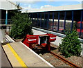 ST1586 : End of the line at Caerphilly station by Jaggery