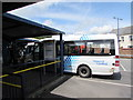 ST1586 : Connect 2 minibus in Caerphilly bus station by Jaggery