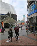 SP0686 : At the corner of Lower Temple Street by John Sutton