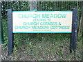 TL0211 : Street Name Plate in Great Gaddesden by David Hillas