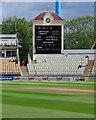 SP0684 : Edgbaston: a new typeface on the scoreboard by John Sutton