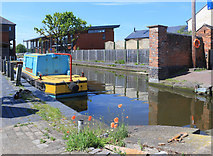 SO8453 : At the end of the canal by Des Blenkinsopp