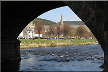 NT2540 : River Tweed, Peebles by Graeme Yuill