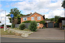 SP8413 : House on Bedgrove, Aylesbury by David Howard