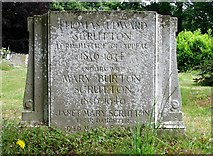 TG2408 : The gravestone of Thomas Edward Scrutton by Evelyn Simak