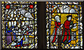 TG2208 : East window detail, St Peter Mancroft church, Norwich by J.Hannan