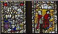 TG2208 : East window detail, St Peter Mancroft church, Norwich by J.Hannan
