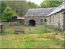 NM4339 : Farm buildings on Ulva by M J Richardson