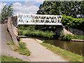 SJ4034 : Canal Footbridge at Ellesmere by David Dixon