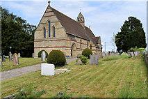 SJ4332 : St John's Church, Colemere by David Dixon