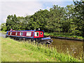 SJ4434 : Narrowboat on the Llangollen Canal by David Dixon
