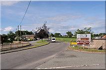 SJ4335 : The A495, Welshampton by David Dixon