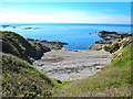 SH2987 : Porth Fudr and Holyhead Bay by Jeff Buck
