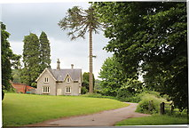 ST5071 : House on edge of Tyntesfield Estate by M J Roscoe