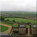 SK4770 : Bolsover Castle: a gloomy June view by John Sutton