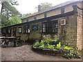 SK2679 : A deserted Longshaw tea room and shop by Graham Hogg