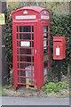 SO0643 : Box in the phone box by Bill Nicholls